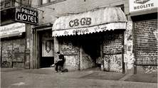 Der Club CBGB in New York 3rd Avenue