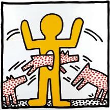 Gegen Den Strich Keith Haring In Der Münchner Kunsthalle Börse Am